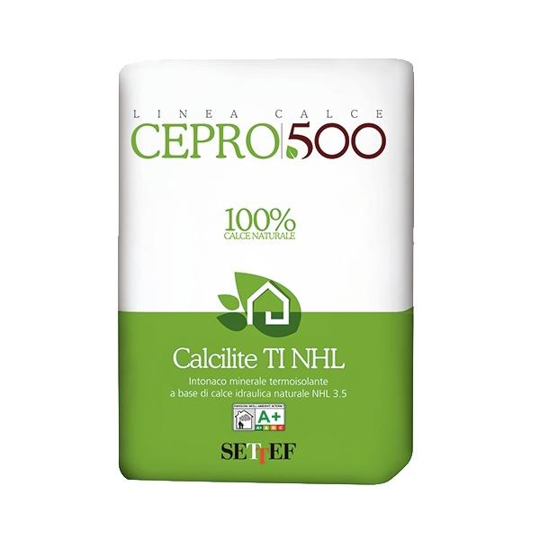 Calcilite TI NHL: Sterk thermisch isolerende kalkpleister op basis van witte, zuivere, n - PEC International