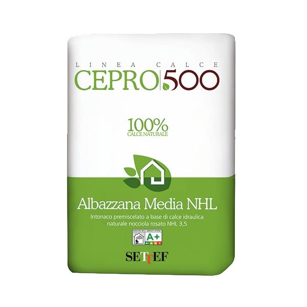 Albazzana Media: Voorgemengde voeg- metsel- en pleistermortel op basis van zuivere natu - PEC International